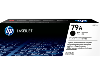 Picture of HP 79A Black Original Toner Cartridge (CF279A Laser Toner)