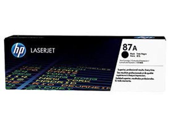 Picture of HP 87A Black Original Toner Cartridge (CF287A Laser Toner)