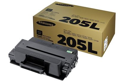 Picture of Samsung MLT-D205L High Yield Black Original Toner Cartridge (MLT-D205L/ELS Laser Toner)