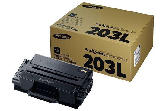 Picture of Samsung MLT-D203L High Yield Black Original Toner Cartridge (MLT-D203L/ELS Laser Toner)
