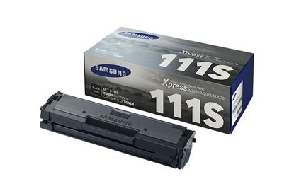 Picture of Samsung MLT-D111S Black Original Toner Cartridge (MLT-D111S/ELS Laser Toner)