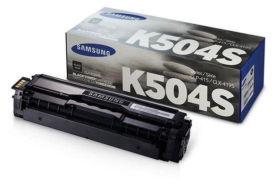 Picture of Samsung CLT-K504S Black Original Toner Cartridge (CLT-K504S/ELS Laser Toner)