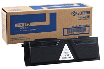 Picture of Kyocera TK-170 Black Original Toner Cartridge (TK170 Laser Toner)