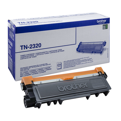 Picture of Brother TN-2320 High Yield Black Original Toner Cartridge (TN2320 Laser Toner)