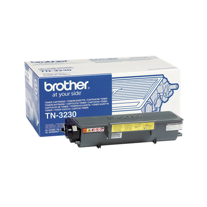 Picture of Brother TN-3230 Black Original Toner Cartridge (TN3230 Laser Toner)