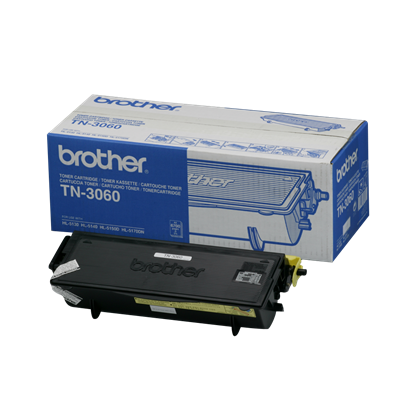 Picture of Brother TN-3060 High Yield Black Original Toner Cartridge (TN3060 Laser Toner)
