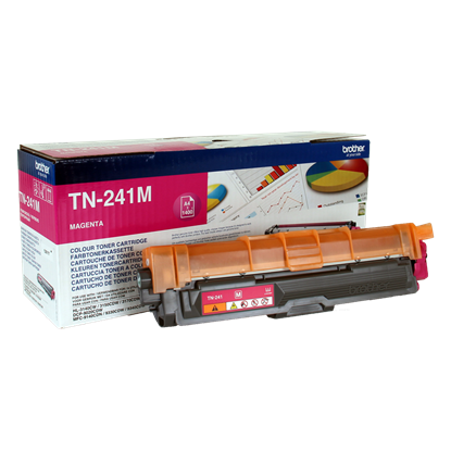 Picture of Brother TN-241M Magenta Original Toner Cartridge (TN241M Laser Toner)