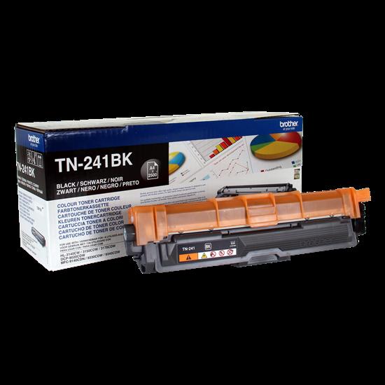 Picture of Brother TN-241BK Black Original Toner Cartridge (TN241BK Laser Toner)