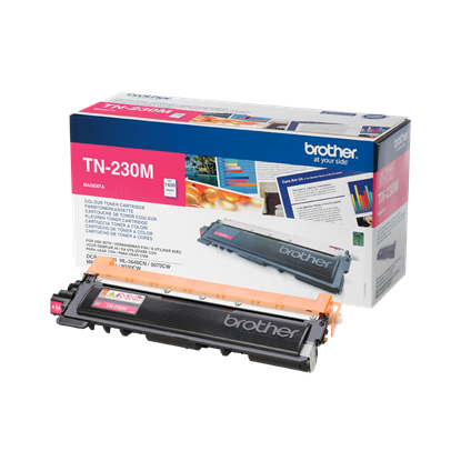 Picture of Brother TN-230M Magenta Original Toner Cartridge (TN230M Laser Toner)
