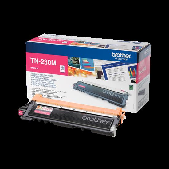 Picture of Brother TN-230M Magenta Original Toner Cartridge (TN230M Laser Toner)
