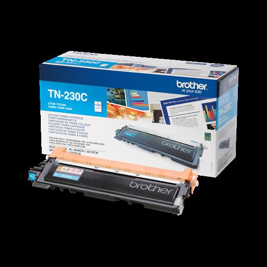 Picture of Brother TN-230C Cyan Original Toner Cartridge (TN230C Laser Toner)