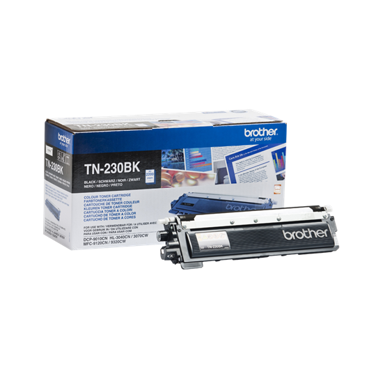 Picture of Brother TN-230BK Black Original Toner Cartridge (TN230BK Laser Toner)