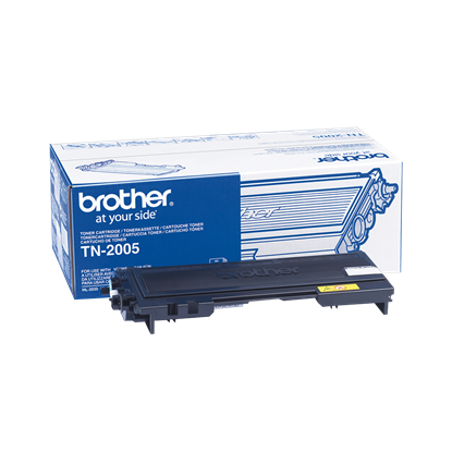 Picture of Brother TN-2005 Black Original Toner Cartridge (TN2005 Laser Toner)