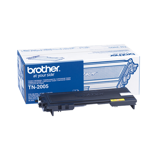 Picture of Brother TN-2005 Black Original Toner Cartridge (TN2005 Laser Toner)