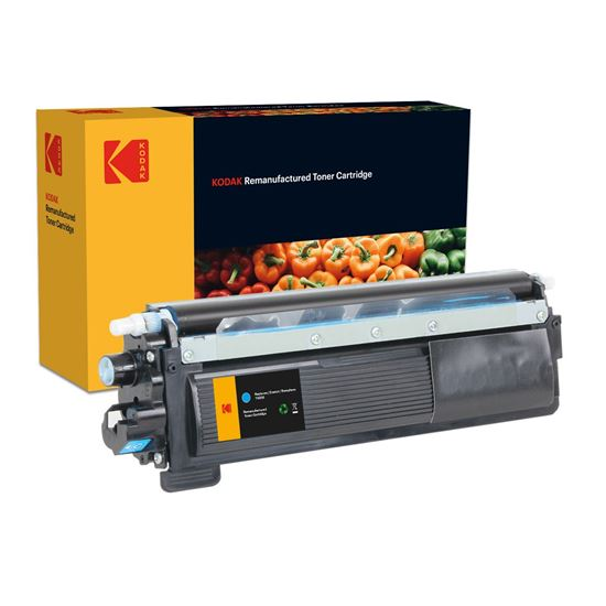 Picture of Kodak Replacement Brother TN-230C Cyan Toner Cartridge