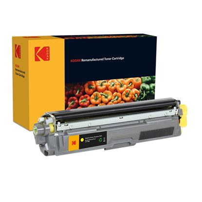 Picture of Kodak Replacement Brother TN-241Y Yellow Toner Cartridge