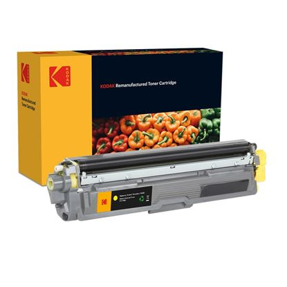 Picture of Kodak Replacement Brother TN-245Y High Yield Yellow Toner Cartridge