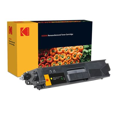 Picture of Kodak Replacement Brother TN-325Y High Yield Yellow Toner Cartridge