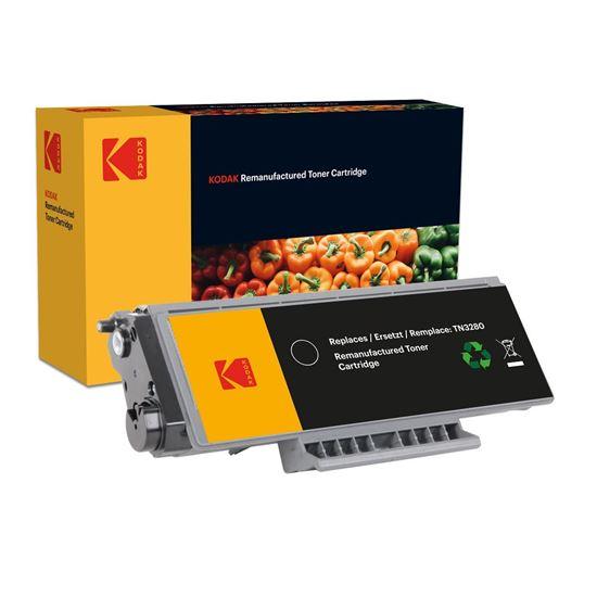 Picture of Kodak Replacement Brother TN-3280 High Yield Black Toner Cartridge