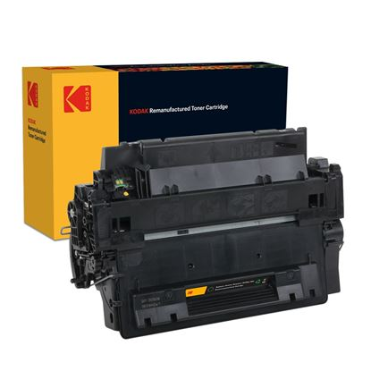 Picture of Kodak Replacement HP 55A Black (CE255A) Toner Cartridge