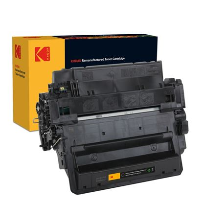 Picture of Kodak Replacement HP 55X High Yield Black (CE255X) Toner Cartridge