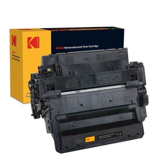 Picture of Kodak Replacement HP 55X High Yield Black (CE255X) Toner Cartridge