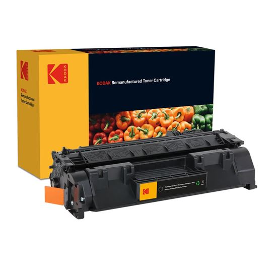 Picture of Kodak Replacement HP 80A Black (CF280A) Toner Cartridge