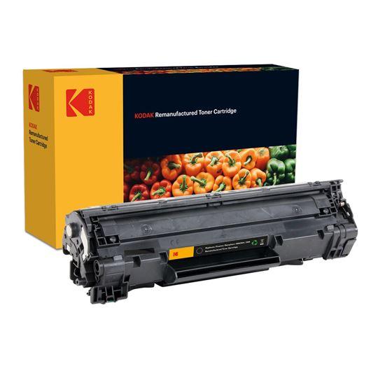 Picture of Kodak Replacement HP 36A Black (CB436A) Toner Cartridge