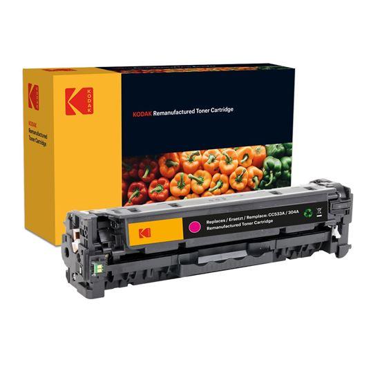 Picture of Kodak Replacement HP 304A Magenta (CC533A) Toner Cartridge