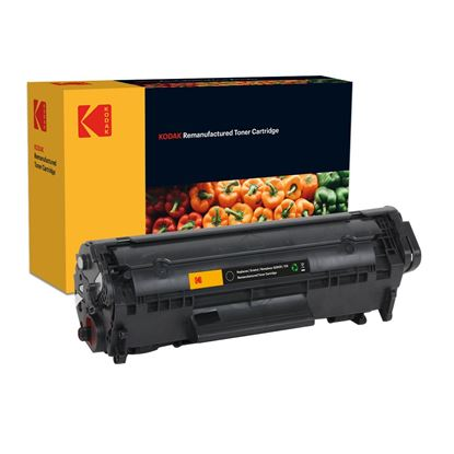 Picture of Kodak Replacement HP 12X High Yield Black (Q2612X) Toner Cartridge