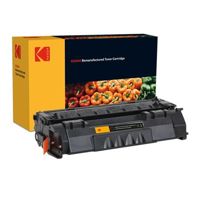 Picture of Kodak Replacement HP 53A Black (Q7553A) Toner Cartridge