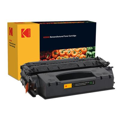 Picture of Kodak Replacement HP 53X High Yield Black (Q7553X) Toner Cartridge