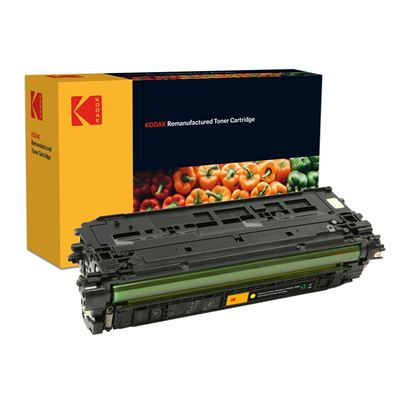 Picture of Kodak Replacement HP 508A Yellow (CF362A) Toner Cartridge