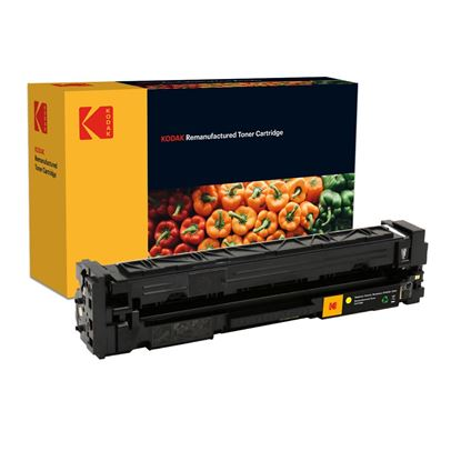 Picture of Kodak Replacement HP 201X High Yield Yellow (CF402X) Toner Cartridge