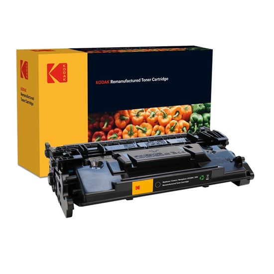 Picture of Kodak Replacement HP 26X High Yield Black (CF226X) Toner Cartridge