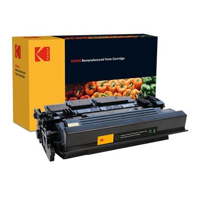 Picture of Kodak Replacement HP 87X High Yield Black (CF287X) Toner Cartridge