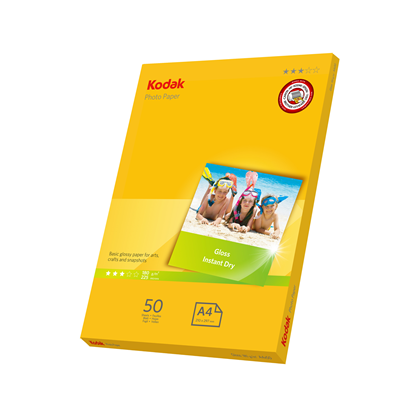 Picture of KODAK A4 Photo Gloss Paper 180g x50