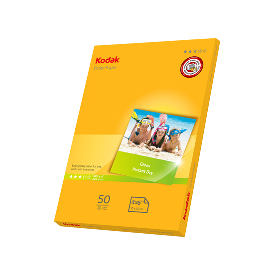 Picture of KODAK A6 (6x4) Photo Gloss Paper 180g x50