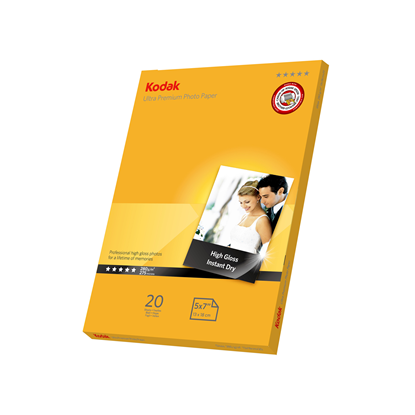 "Picture of KODAK Ultra Premium 5x7"" Photo Gloss Paper 280g x20"