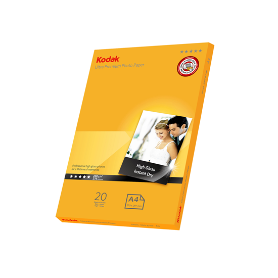 Picture of KODAK Ultra Premium A4 Photo Gloss Paper 280g x20