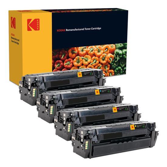 Picture of Kodak Replacement Samsung CLT-506L High Yield Black, Cyan, Magenta, Yellow Toner Cartridge Multipack