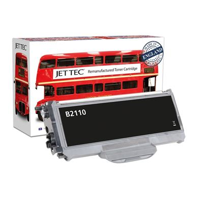 Picture of Red Bus Recycled Brother TN-2110 Black Toner Cartridge