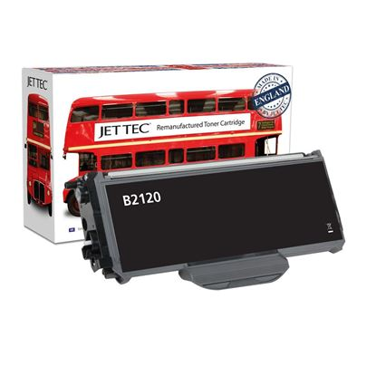 Picture of Red Bus Recycled Brother TN-2120 High Yield Black Toner Cartridge