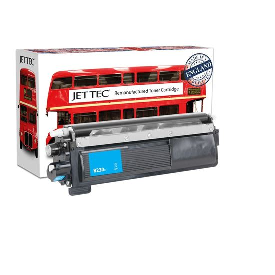 Picture of Red Bus Recycled Brother TN-230C Cyan Toner Cartridge