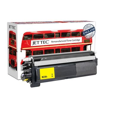 Picture of Red Bus Recycled Brother TN-230Y Yellow Toner Cartridge