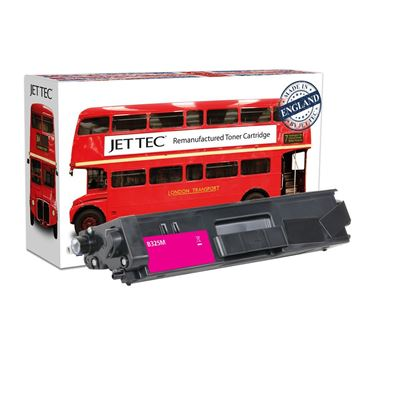 Picture of Red Bus Recycled Brother TN-325M High Yield Magenta Toner Cartridge