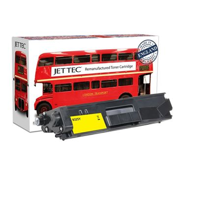 Picture of Red Bus Recycled Brother TN-325Y High Yield Yellow Toner Cartridge
