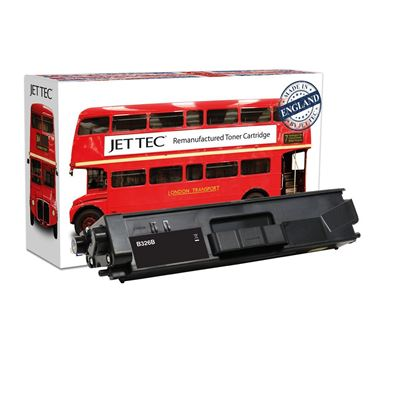 Picture of Red Bus Recycled Brother TN-326BK High Yield Black Toner Cartridge