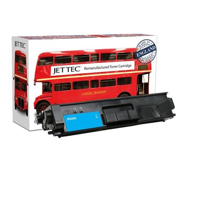 Picture of Red Bus Recycled Brother TN-326C High Yield Cyan Toner Cartridge