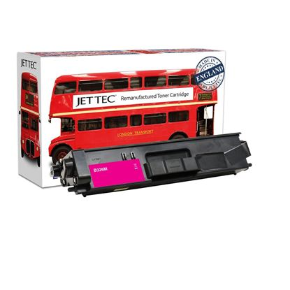 Picture of Red Bus Recycled Brother TN-326M High Yield Magenta Toner Cartridge